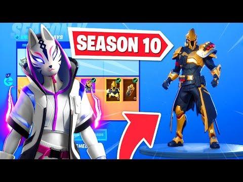 New Season 10 Battle Pass In Fortnite Og Skins Return