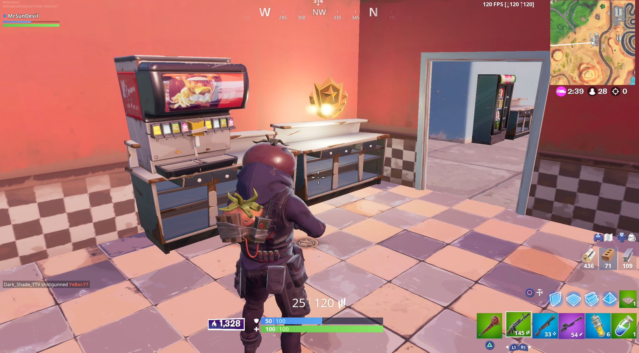 Fortnite Season 10 Week 3 Secret Battle Star Location - Softeez Ice Cream Shop