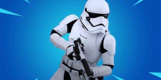 Fortnite Star Wars Challenges First Order Stormtrooper Fortnite X Star Wars Leaked