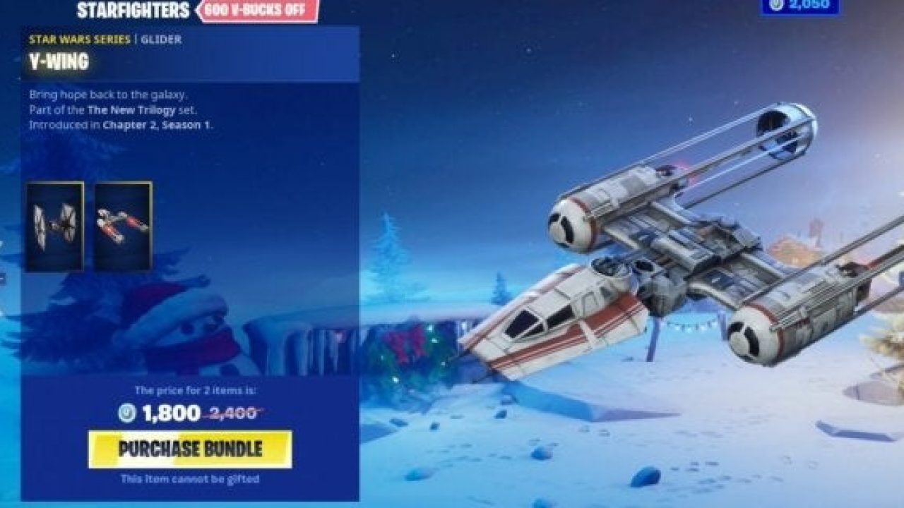 Fortnite S Y Wing Gliders Have An Interesting Design Omission