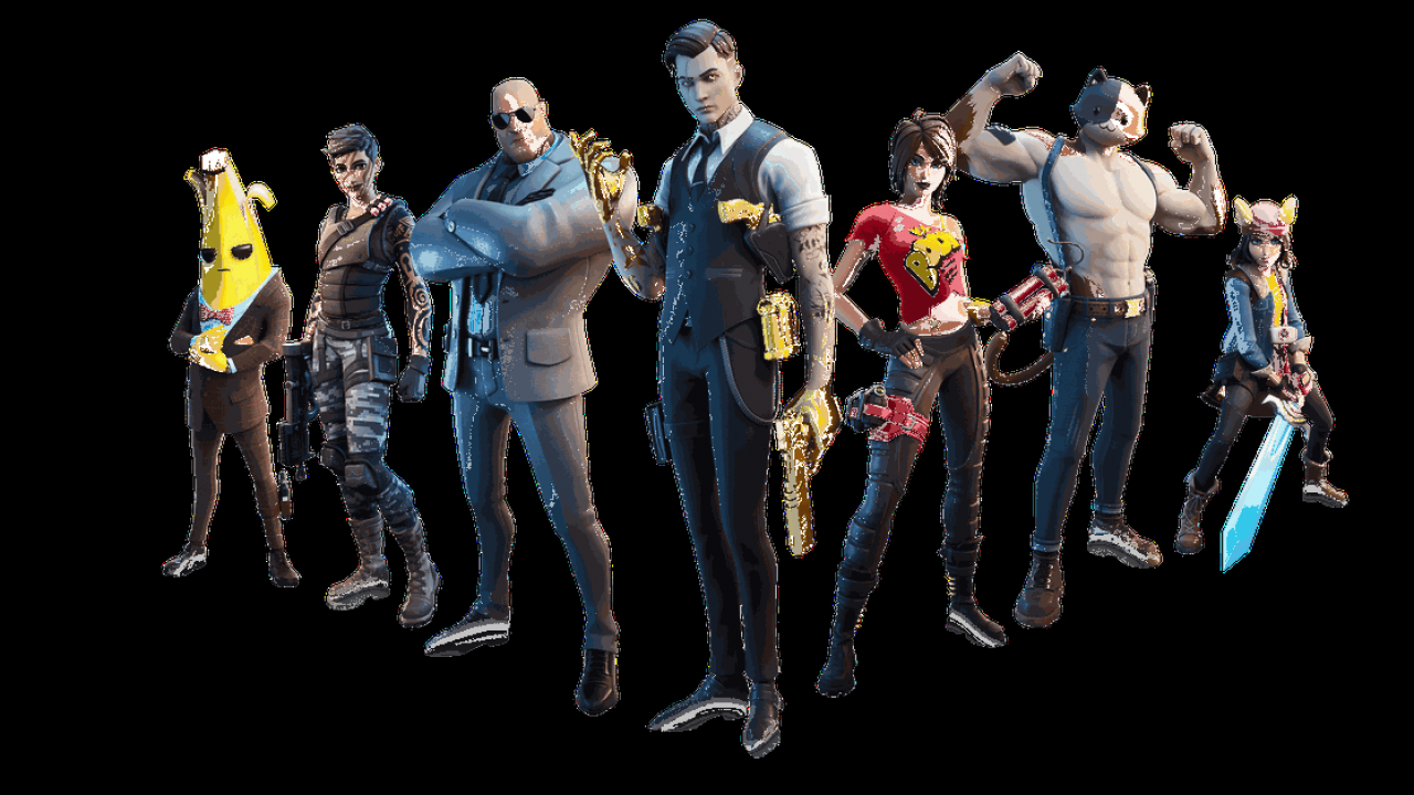 Fortnite Chapter 2 S New Season Is All About Secret Agents And Well Muscled Cats