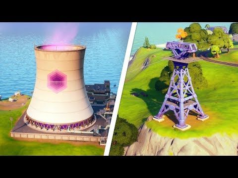 Zipline Challenge Fortnite Ride The Steamy Stacks A Zipline And Use A Secret Passage In A Single Match Fortnite Challenge