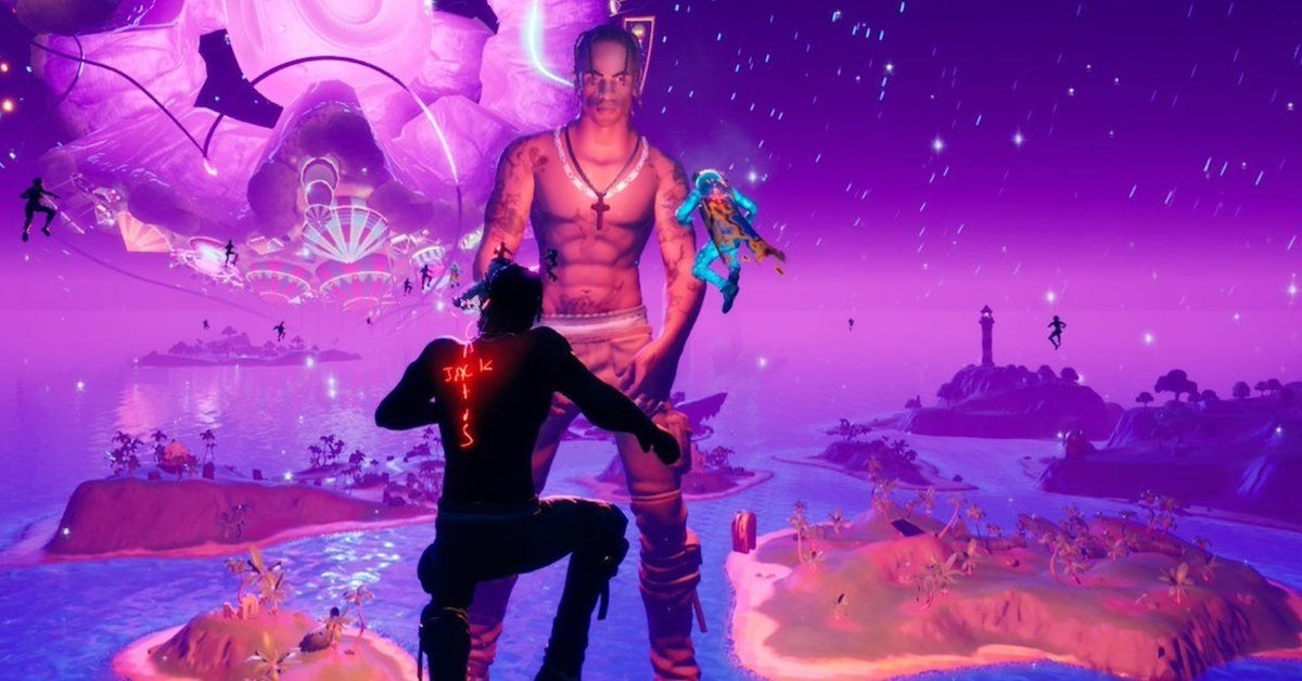 Fortnite Travis Scott Astronomical Event Here S What Happened Video Travis scott's first fortnite concert made history last night with the biggest live audience in the game's history, as 12.3 million concurrent players watched the houston rapper debut a new kid cudi. fortnite travis scott astronomical