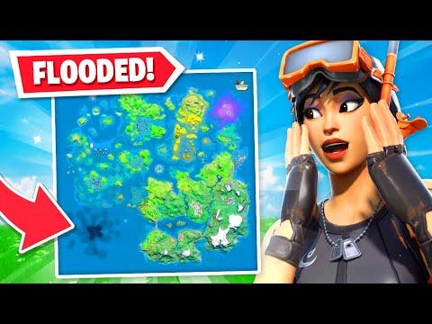 New Fortnite Flooded Map Leaked Chapter 2 Season 3
