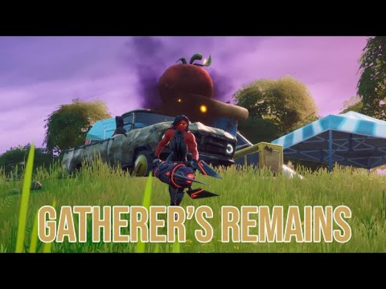 How to deal damage with a Gatherers remains in Fortnite ...
