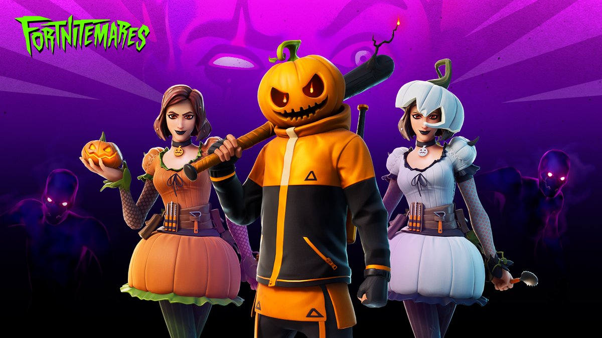 Carved Straight From The Patch And Here To Spice Things Up Get The Carving Crew Set In The Item Shop Now Https T Co Idadzwnukf