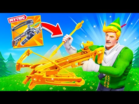 The *MYTHIC* Fortnite Crossbow! (Poggers)