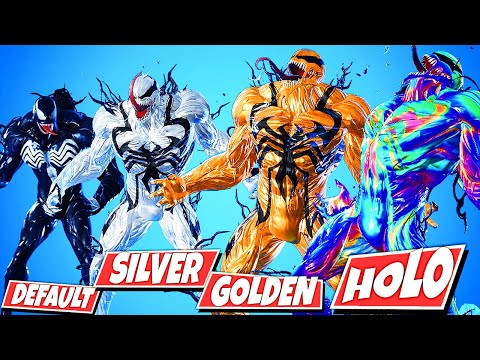 Venom Silver Vs Golden Vs Holo Foils Fortnite Battle Royale Tons of awesome venom fortnite wallpapers to download for free. venom silver vs golden vs holo foils