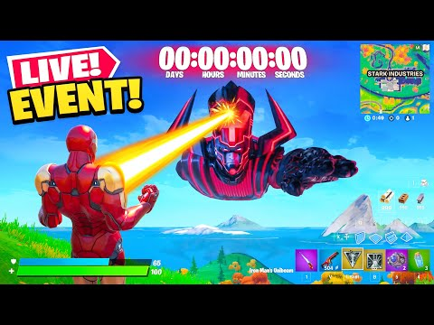 The End Of Fortnite Live Event Let's play fortnite gameplay fortnite live ps4 now. the end of fortnite live event