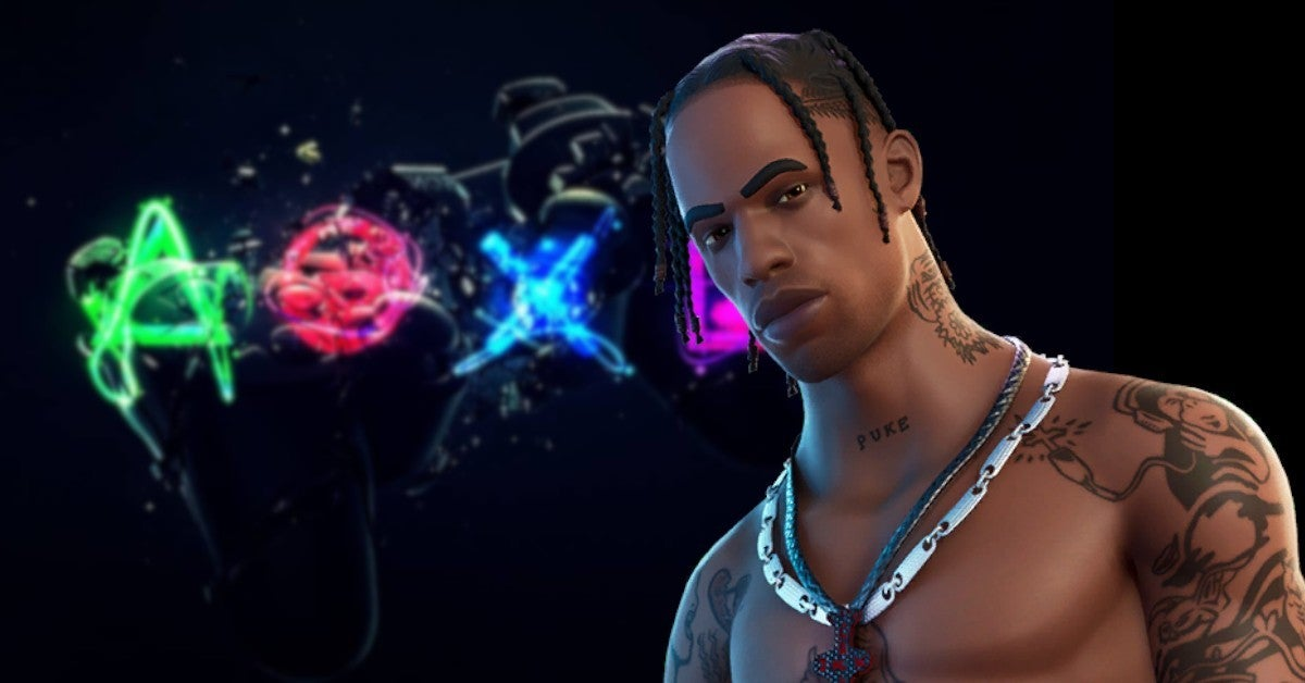 Travis Scott Ps5 Game And Console Reportedly In The Works Travis scott introduces astronomical into fortnite as well as his very own skin. travis scott ps5 game and console
