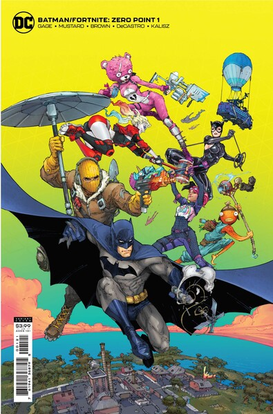 Batman x Fortnite: Zero Point Comics coming soon
