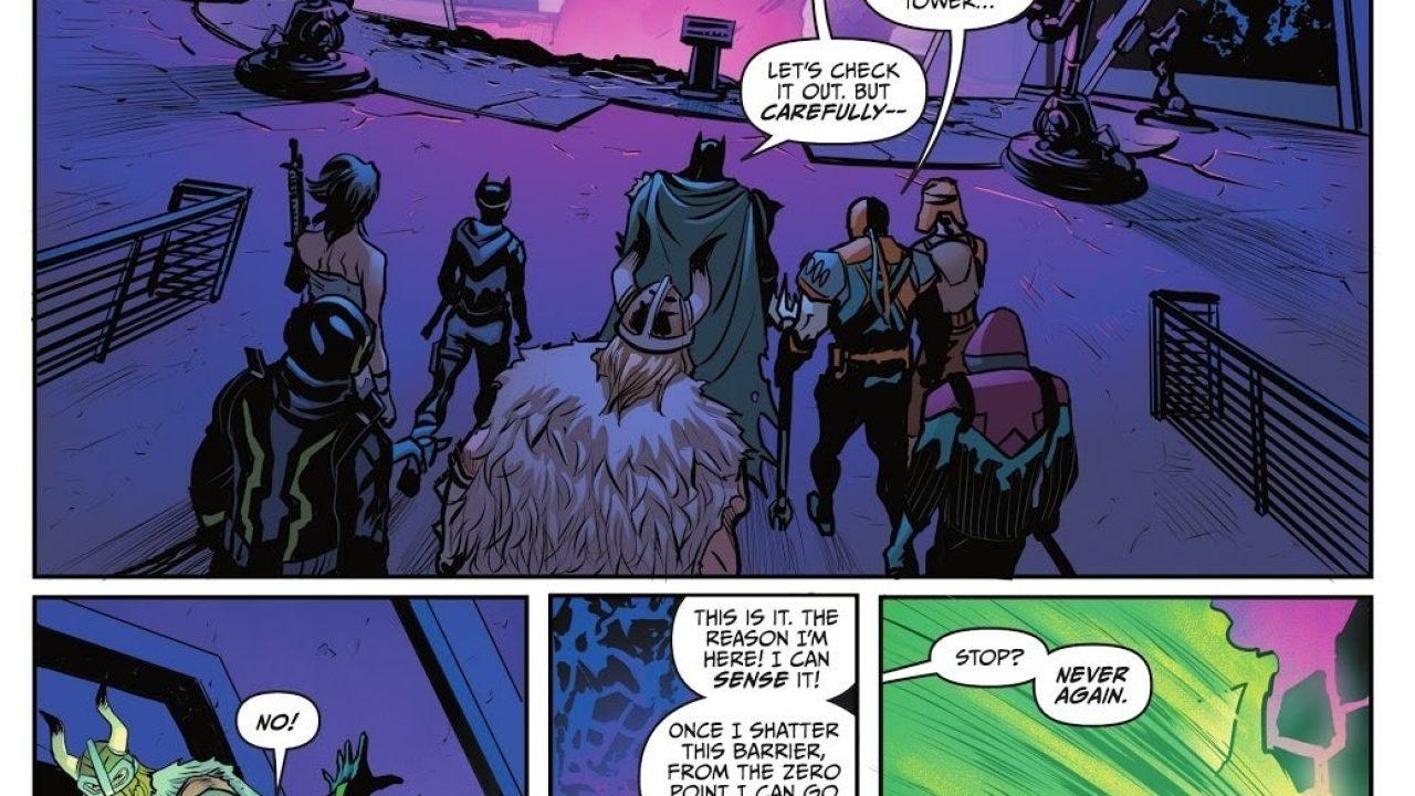 Batman.does Not Kill Fortnite Fortnite Just Killed Another Fan Favorite Character In Batman Tie In Comic