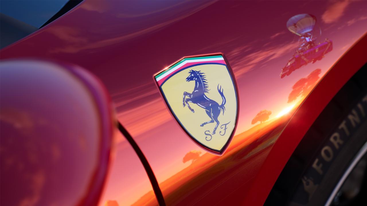 Ferrari's New 296 GTB is Coming to Fortnite