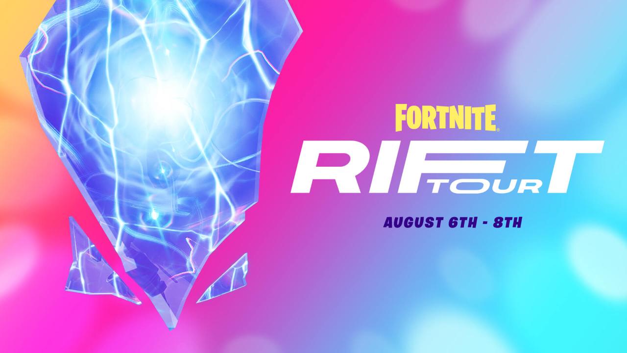 Fortnite Announces new Event: The Rift Tour