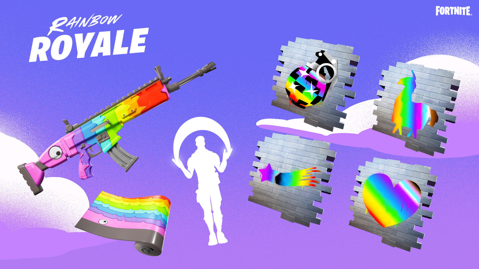 Fortnite Launches New Rainbow Royale Event