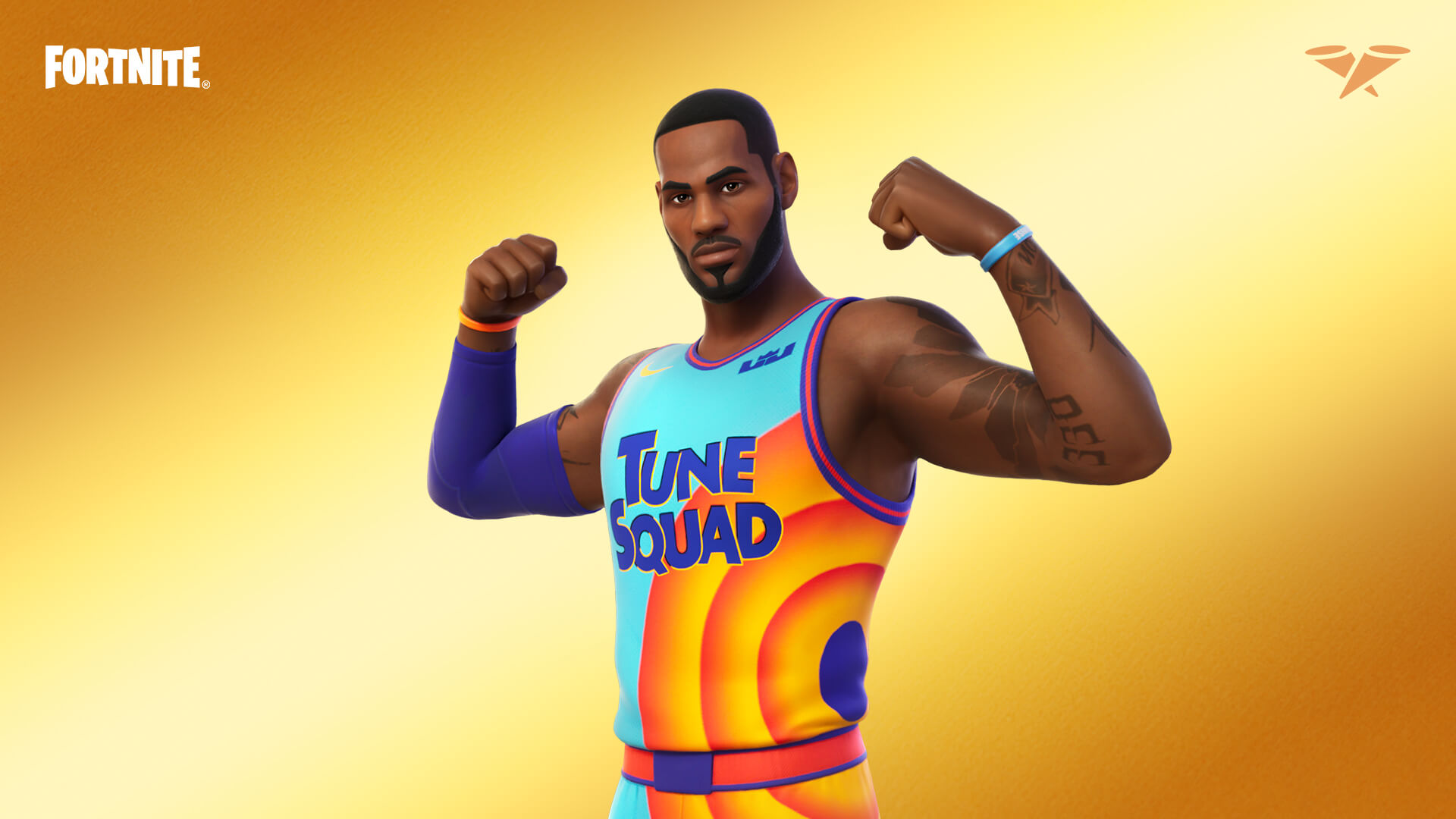 LeBron James joins the Fortnite Icon Series