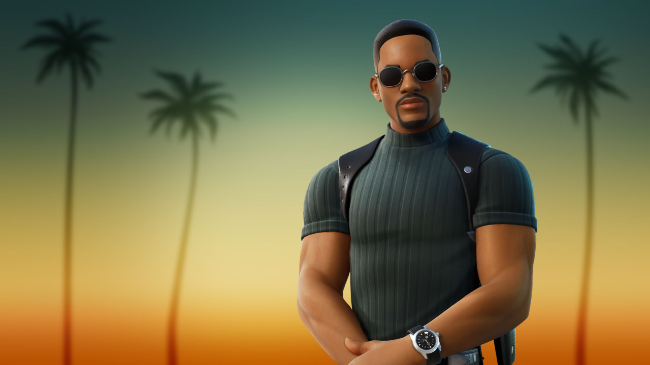 Will Smith's Mike Lowery has arrived in Fortnite