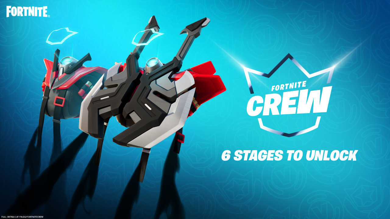Fortnite Launches The Legacy Set, Exclusive to The Crew Pack