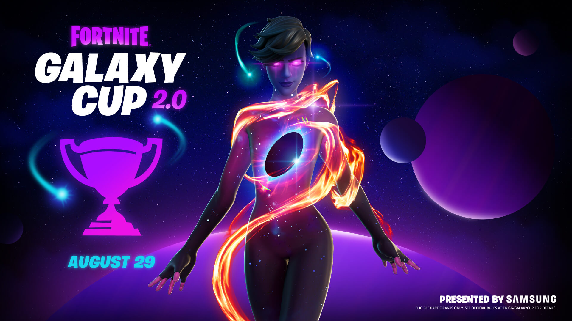The Galaxy Cup 2.0 takes place August 29, Exclusive to Android
