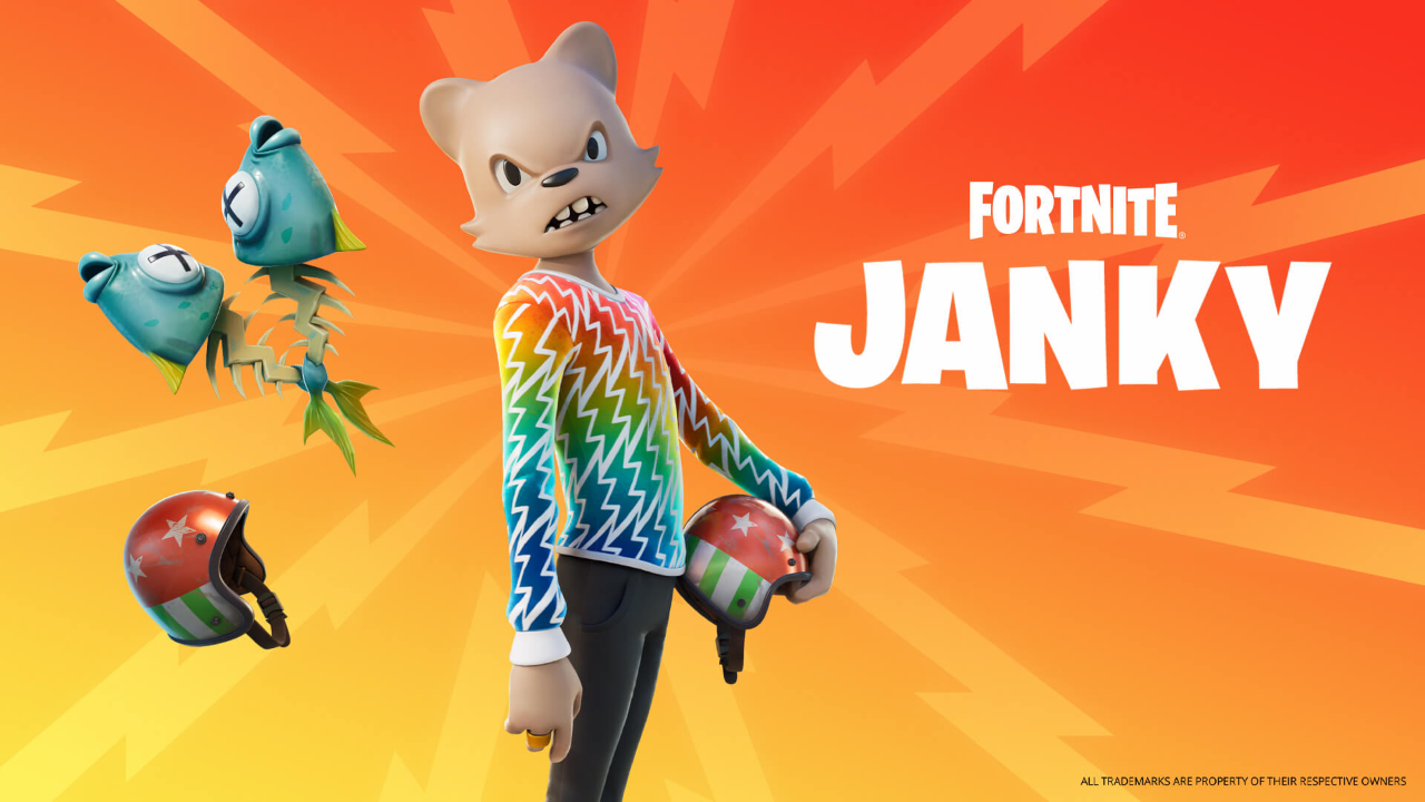 Janky has arrived in Fortnite