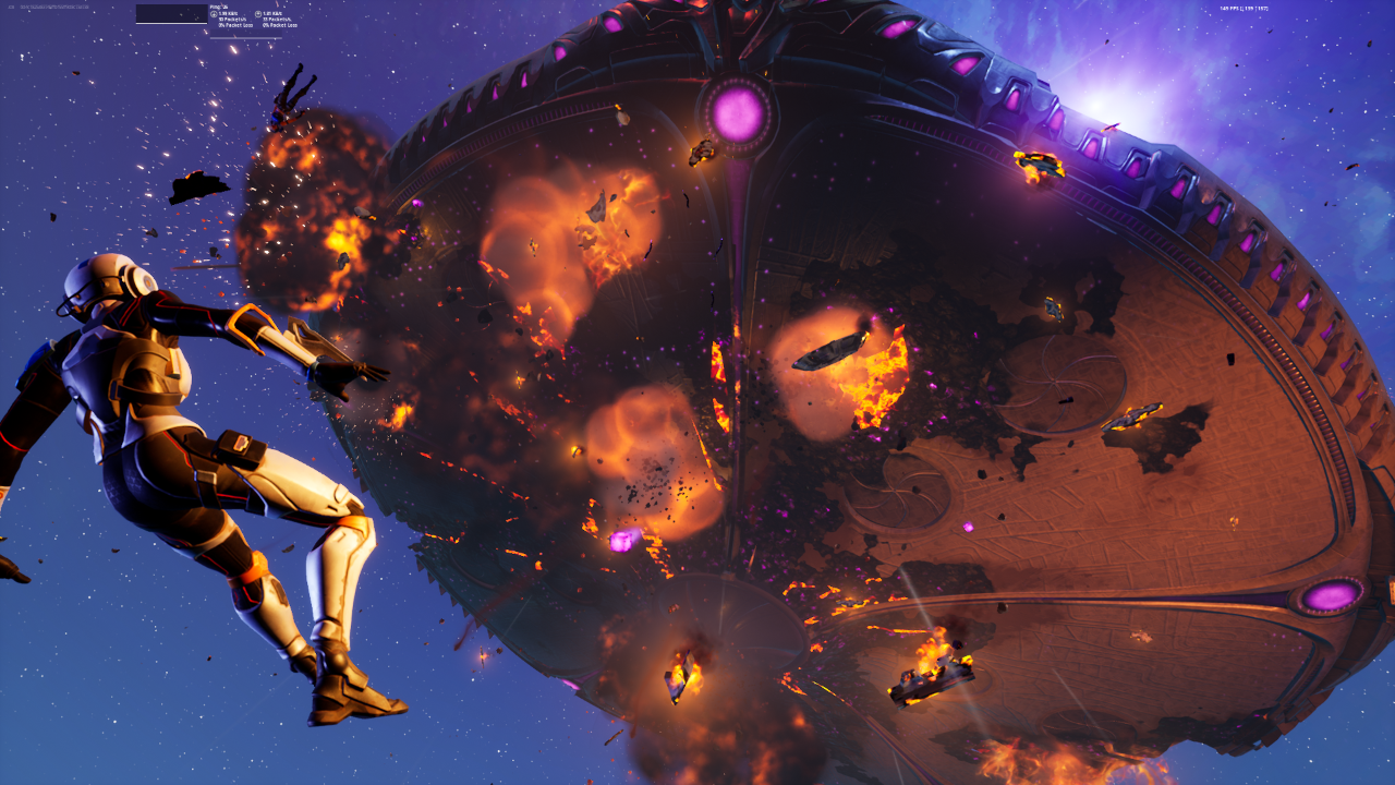 Fortnite's Sky Fire event Shuts Down the Game for 12 Hours