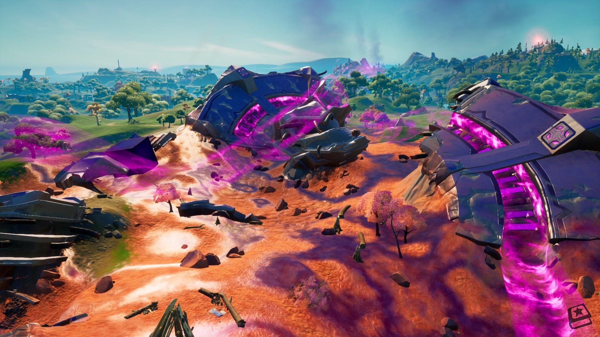 Fortnite v18.00 - Map Changes