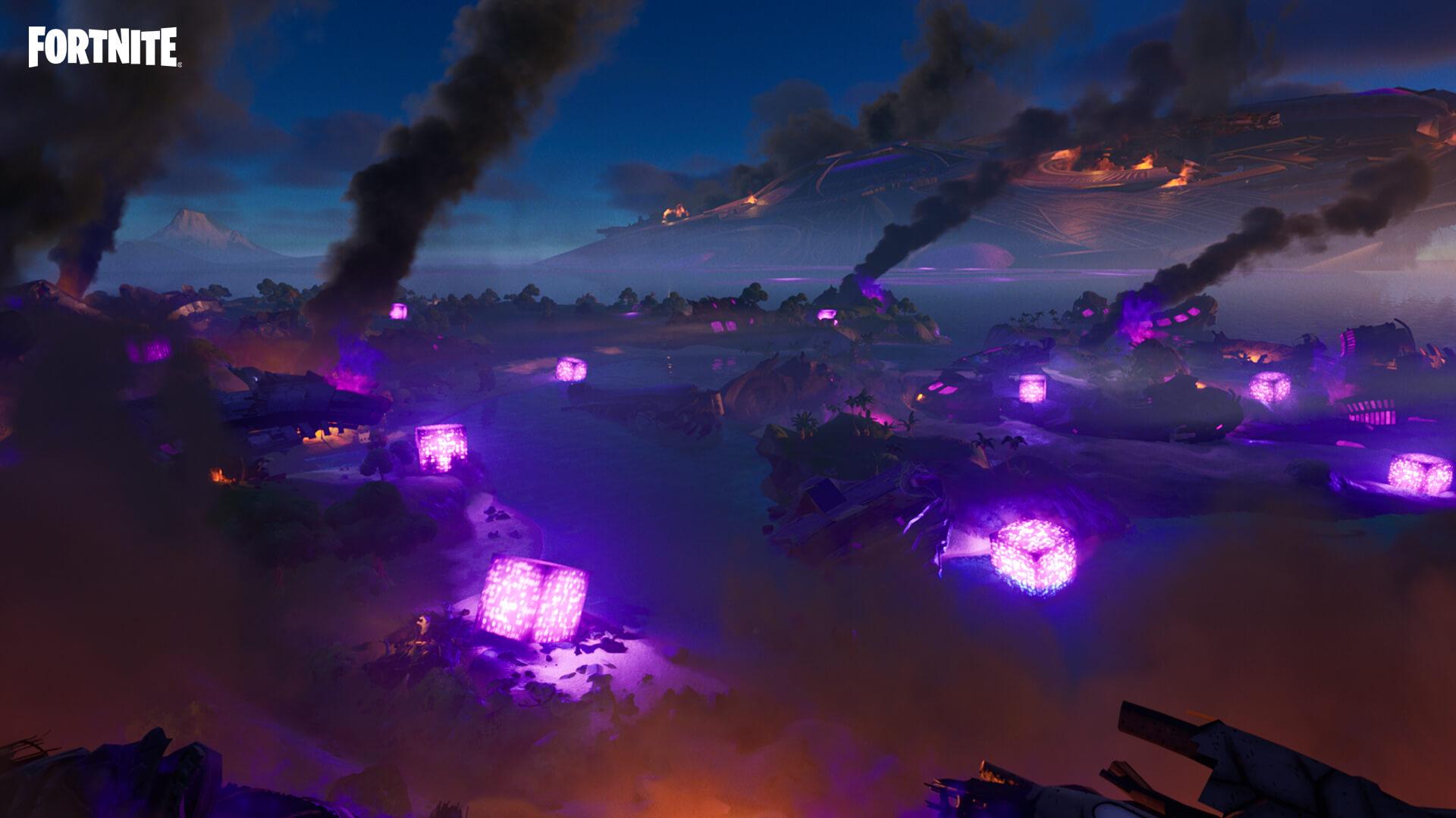 Fortnite: The Believer Beach Cube has been Awakened
